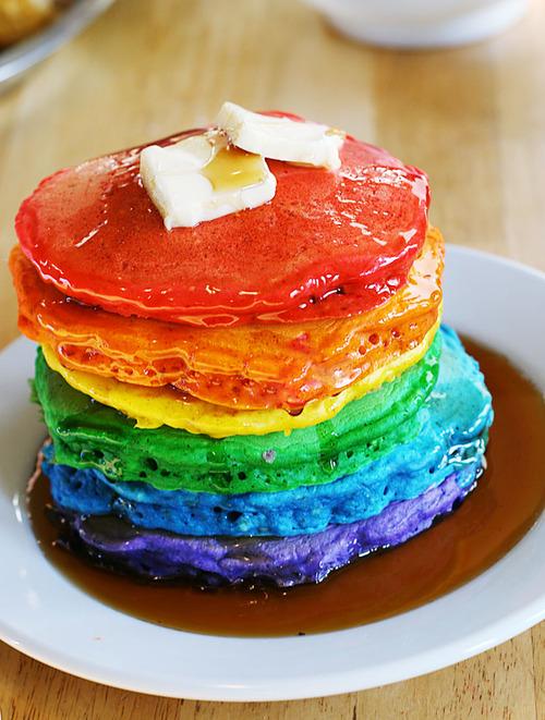 Freaky Food Friday: Rainbow Pancakes