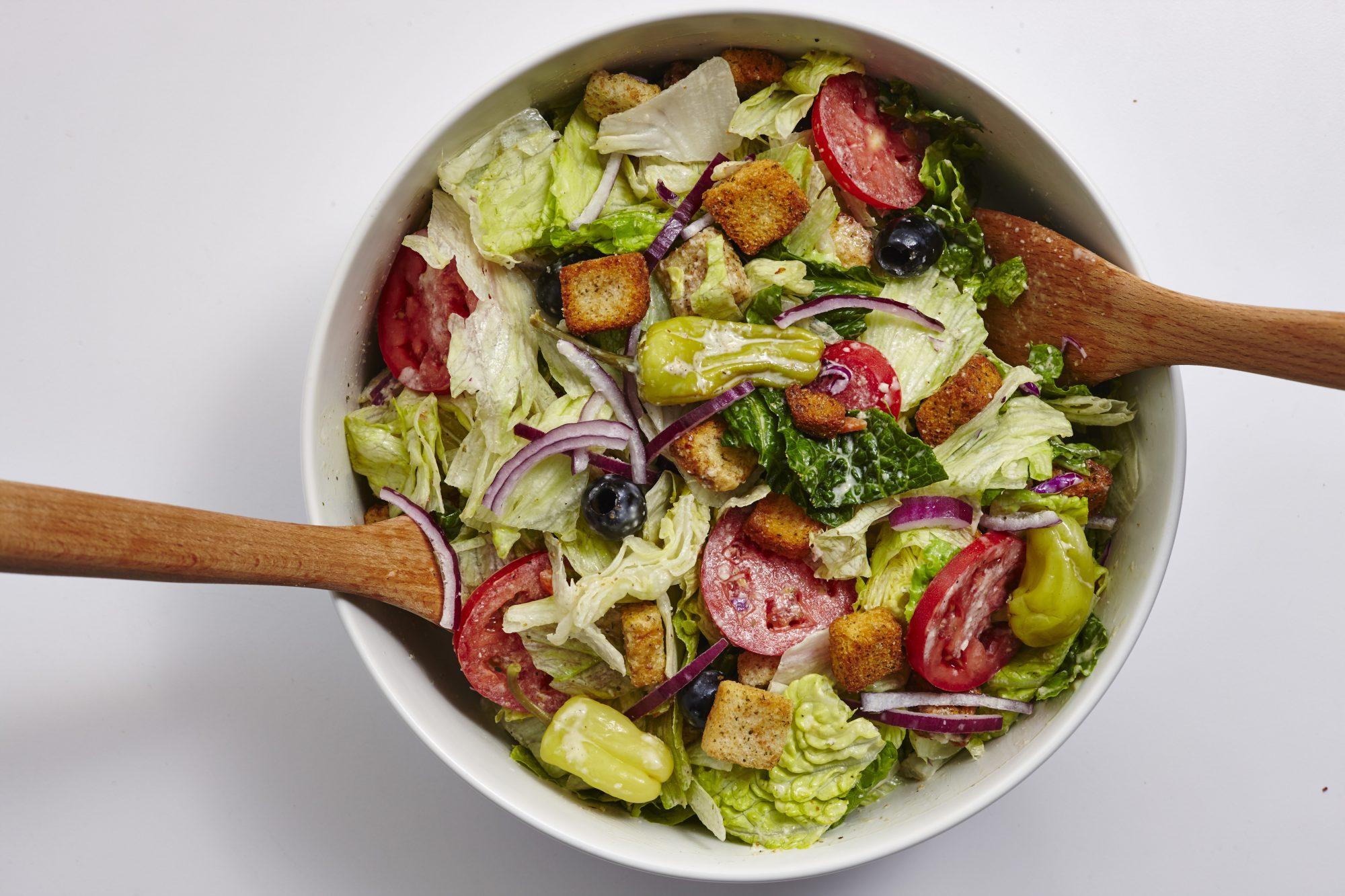 how to prepare garden salad