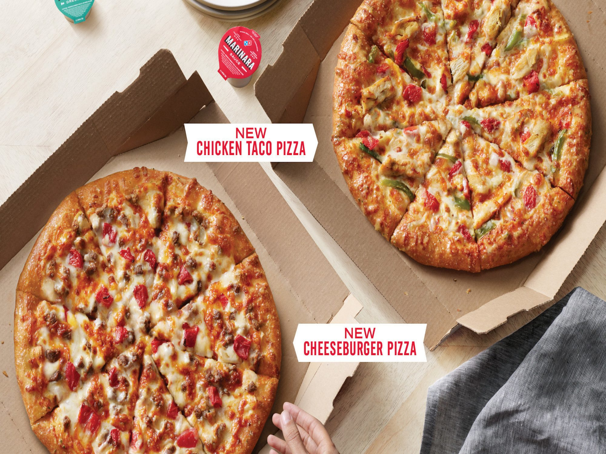 Domino S Is Making Pizzas That Taste Like Tacos And Burgers Myrecipes