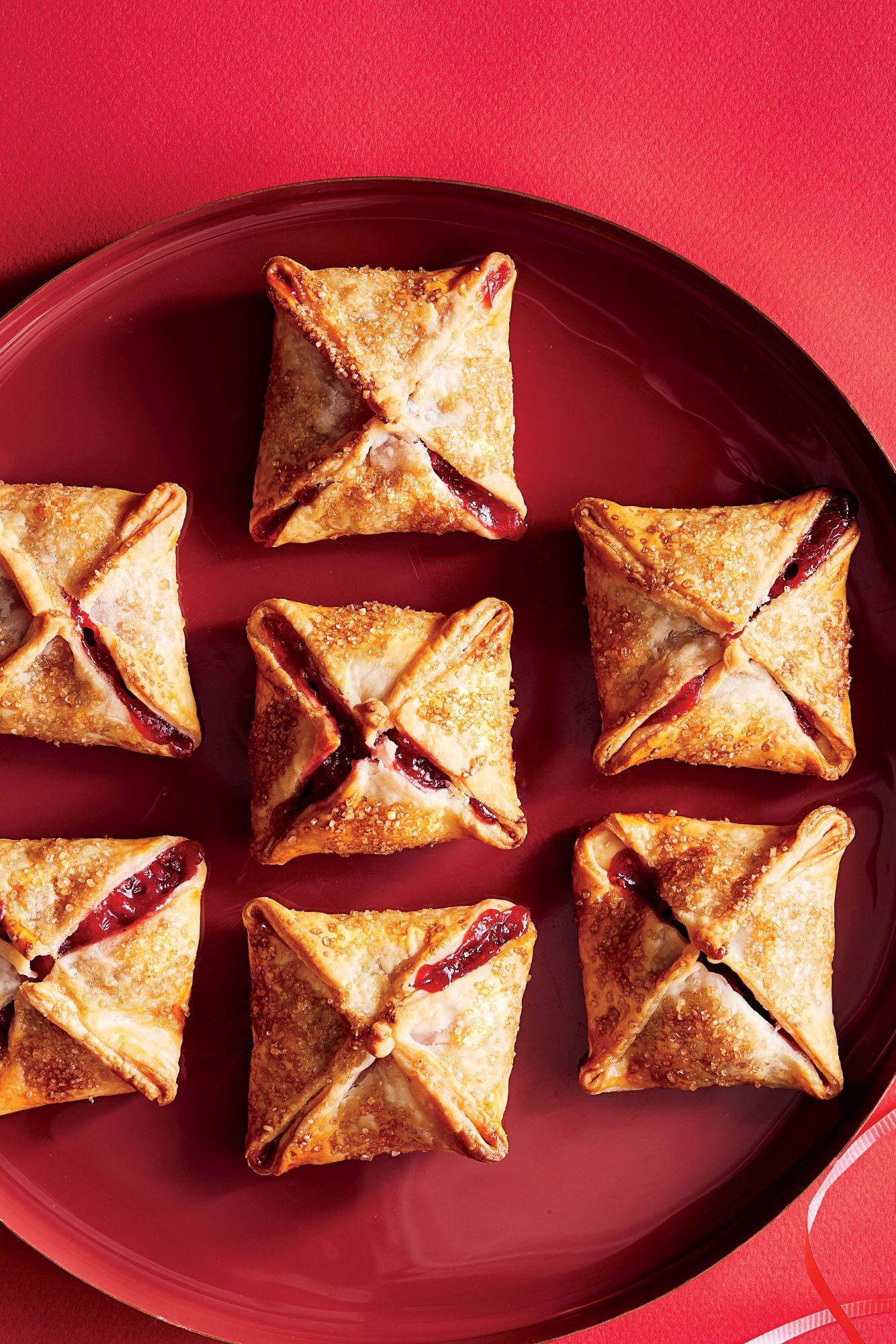 Cranberry-Apple Tartlets