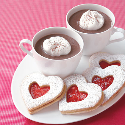 Raspberry Linzer Heart Cookies Recipe