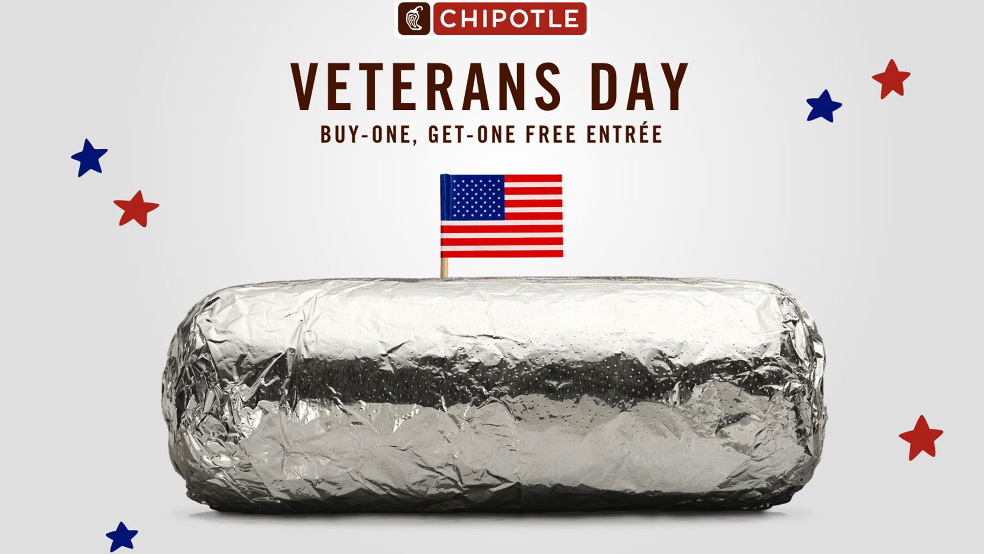 where can veterans get a free meal