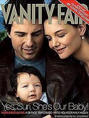 Tom Cruise, Katie Holmes y Suri
