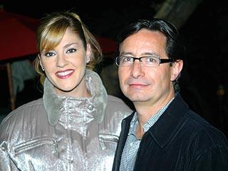 Chantal Andere y Roberto Gómez