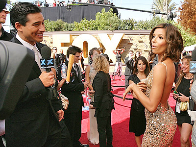 Eva Longoria y Mario Lopez