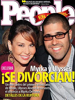 Myrka Dellanos y Ulysses Alonso en la portada de mayo de PEOPLE EN ESPAÑOL
