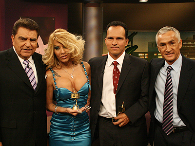 Don Francisco, Ivy Queen, Dr. Harold Fernandez, Jorge Ramos