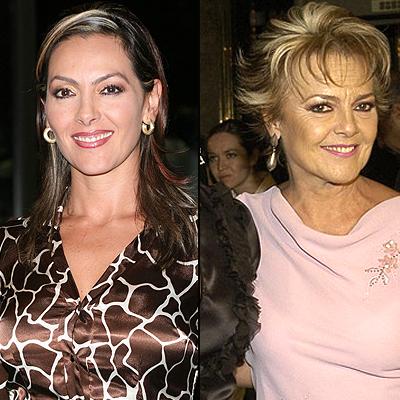 Verónica del Castillo y Kate Negrete