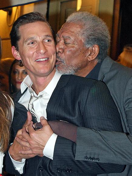 Matthew McConaughey, Morgan Freeman