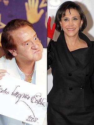 Carlos Villagrán y Florinda Meza