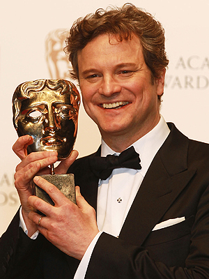 """Colin Firth gana como Mejor Actor en los BAFTA por """"The King's Speech"""""""