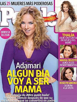 Adamari López, portada PEOPLE EN ESPAÑOL costa oeste noviembre 2011