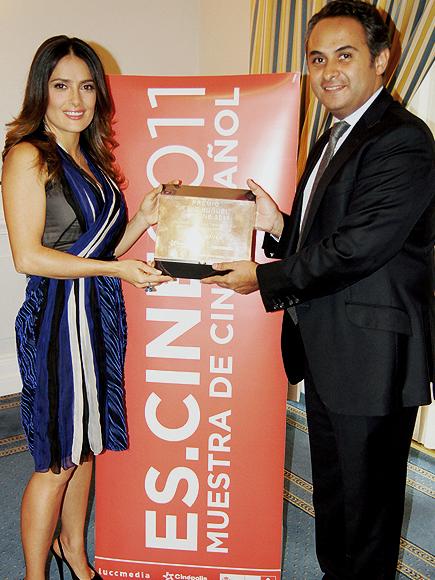 Salma Hayek, Anrique Rubio