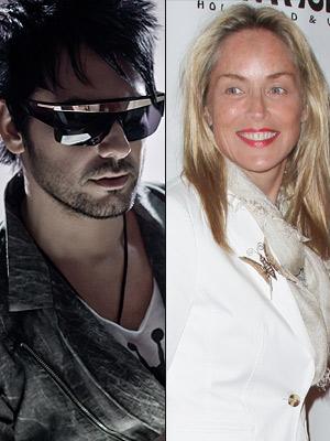 Beto Cuevas, Sharon Stone