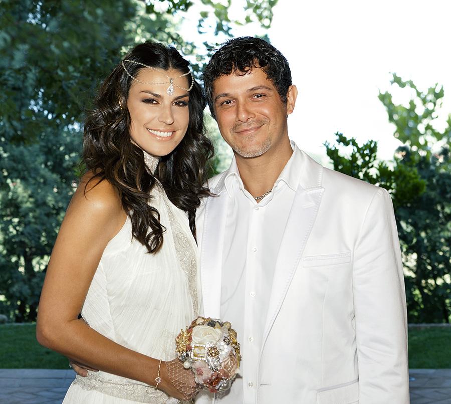 Alejandro Sanz y Raquel Perera, bodas de famosos del 2012