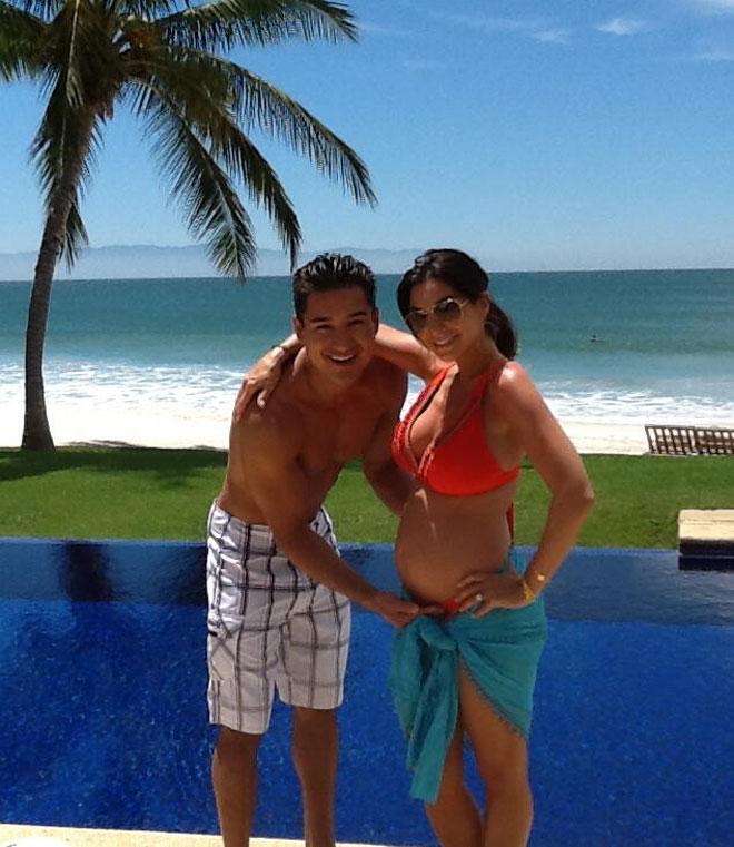 Mario Lopez, Courtney Lopez, famosos en Twitter
