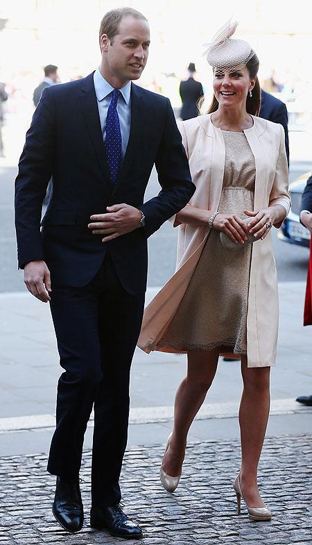 William, Kate Middleton, Míralos