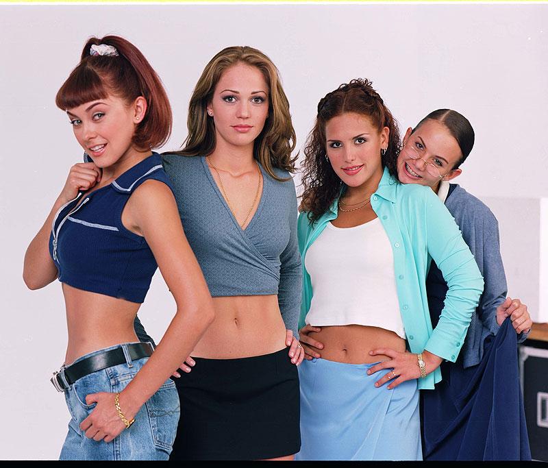 Aracely Arámbula, Laisha Wilkins, Angélica Vale, Michelle Vieth