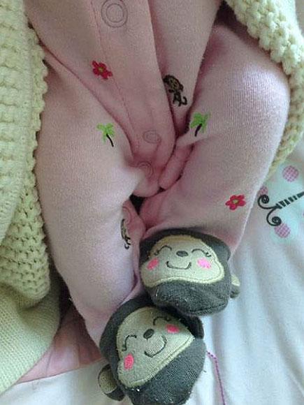 Luciana, Lorena Rojas, Bebés en instagram