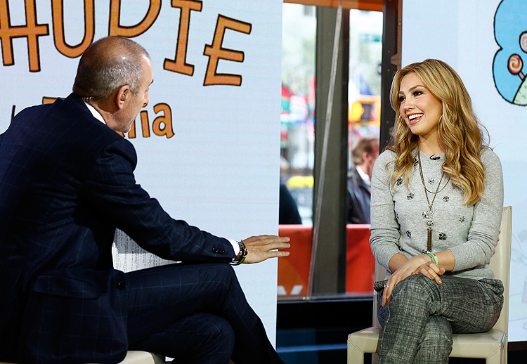 Thalía, Today Show, Matt Lauer