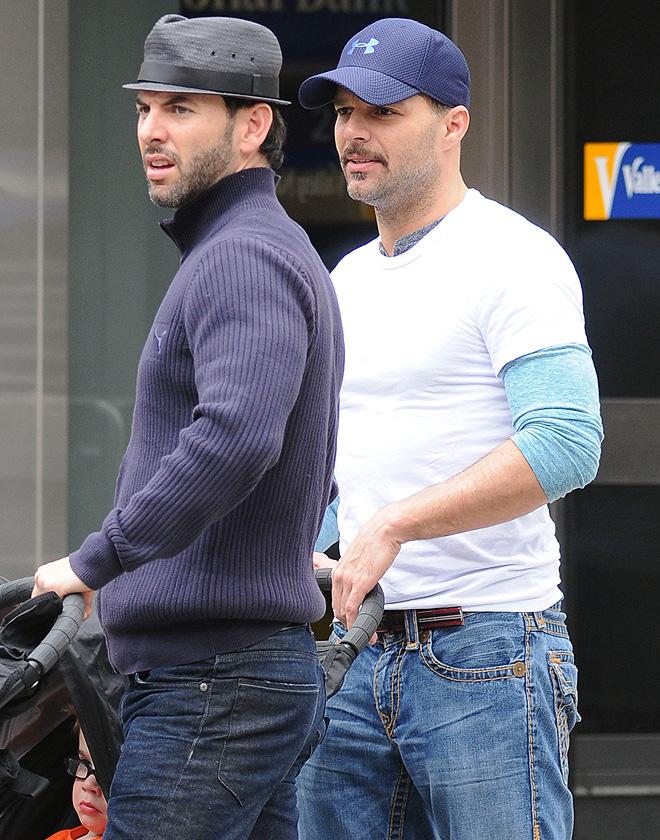 Ricky Martin, Carlos González Avella, rupturas 2014