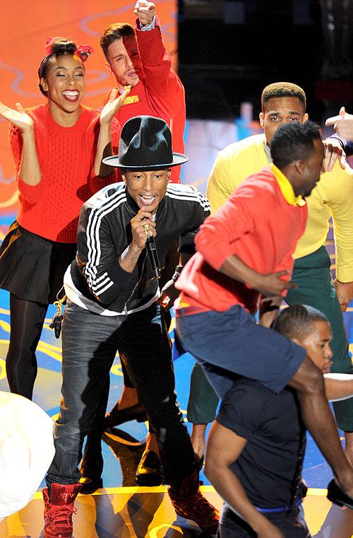 Pharrell Williams, La gala de los Óscar 2014