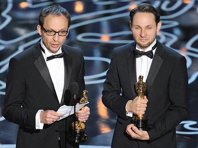 Laurent Witz, Alexandre Espigares, Gala Premios Óscar 2014