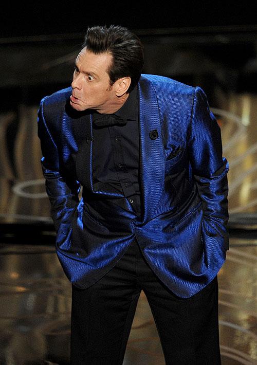 Jim Carrey, Gala premios Óscar 2014