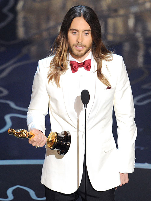 Jared Leto, Gala Premios Óscar 2014