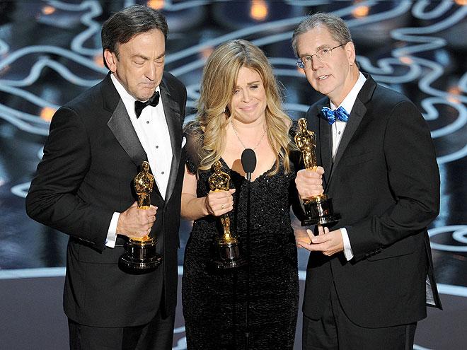 Peter Del Vecho, Jennifer Lee, Chris Buck, Gala Premios Óscar 2014