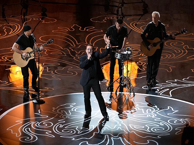 U2, Gala Premios Óscar 2014