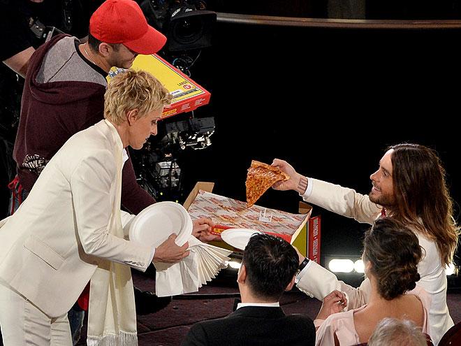 Ellen DeGeneres, jared Leto, Gala premios Óscar 2014