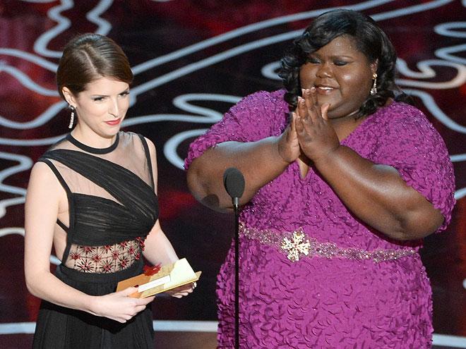 Anna Kendrick, Gabby Sidibe, Gala Premios Óscar 2014