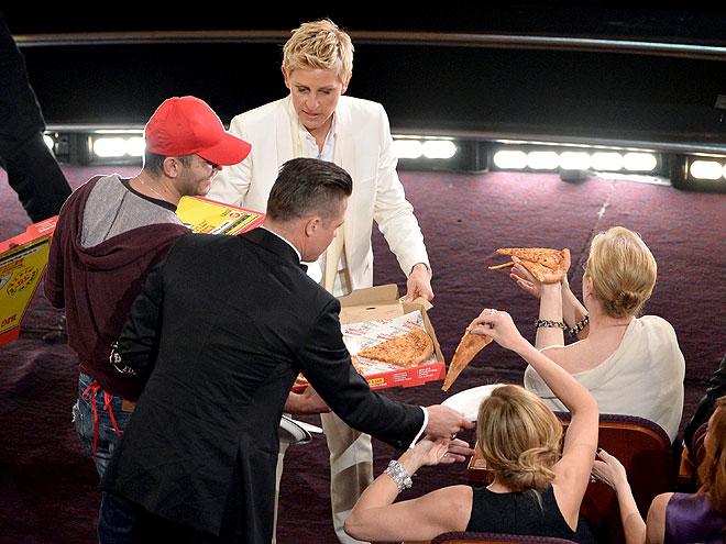 Brad Pitt, Julia Roberts, Meryl Streep, Ellen DeGeneres, Gala premios Óscar 2014