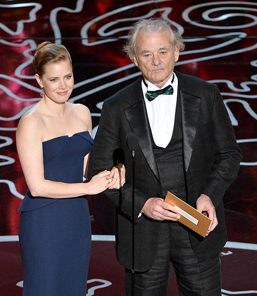 Amy Adams, Bill Murray, Gala Premios Óscar 2014