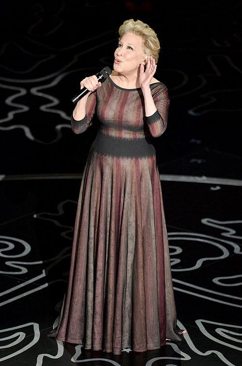 Bette Midler, Gala Premios Óscar 2014