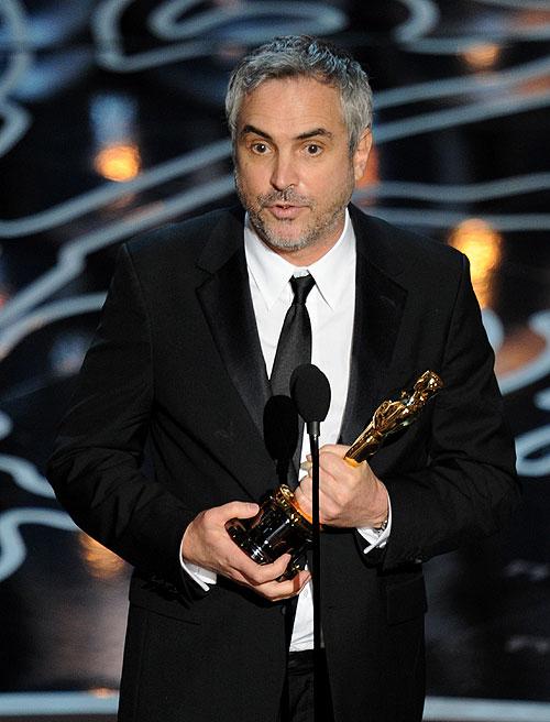 Alfonso Cuarón, Gala Premios Óscar 2014