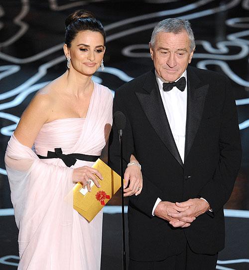Penélope Cruz, Robert De Niro, Gala premios Óscar 2014