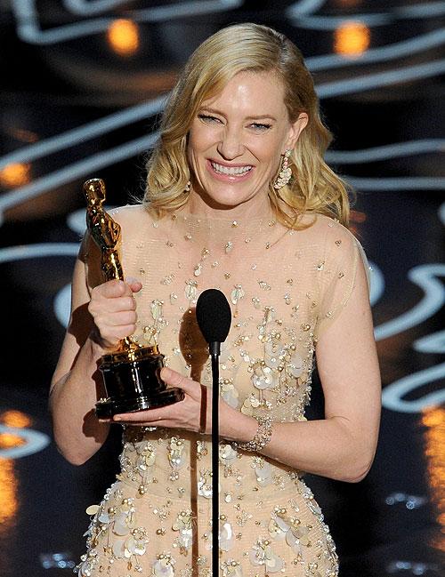 Cate Blanchett, Gala Premios Óscar 2014