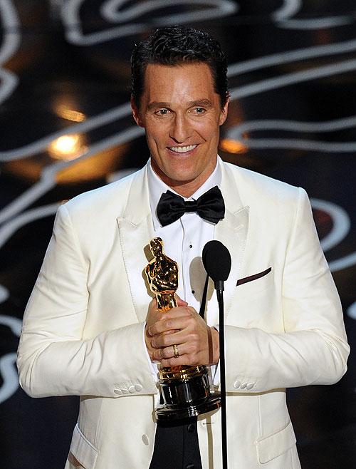 Matthew McConaughey, Camila Alves, Gala Premios Óscar 2014
