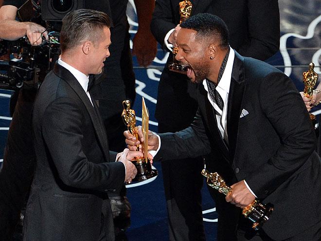 Will Smith, Brad Pitt, Gala Premios Óscar 2014