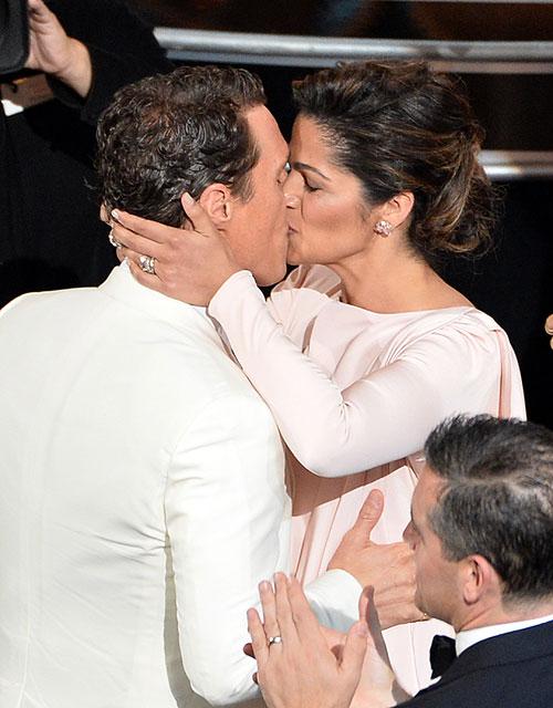 Camila Alves, Matthew McConaughey, Gala Premios Óscar 2014