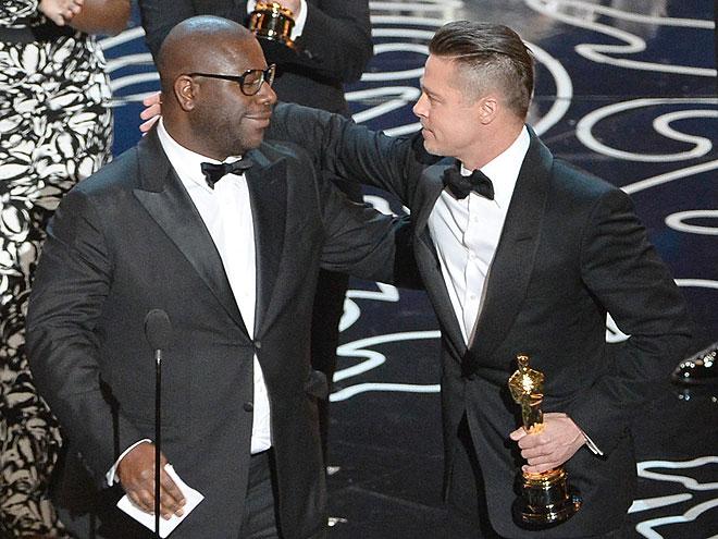 Steve McQueen, Brad Pitt, Gala Premios Óscar 2014