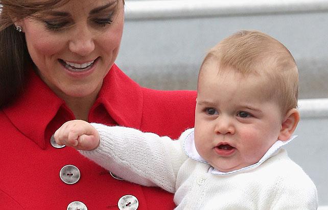 Bebé real, príncipe George, Nueva Zelanda
