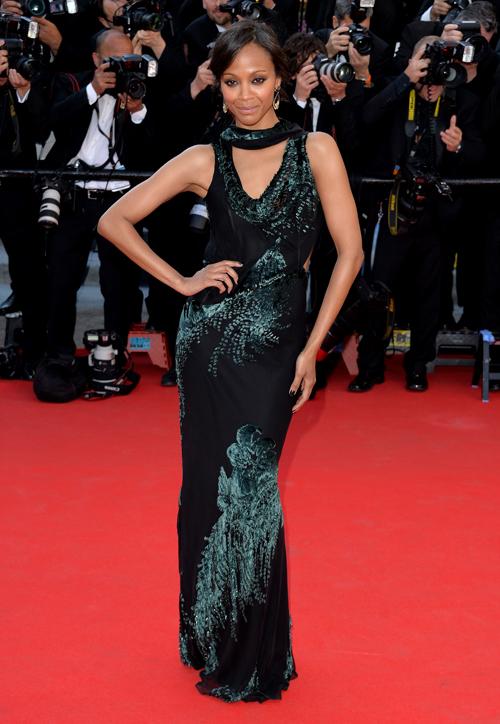 Festival de Cine de Cannes, Zoë Saldaña