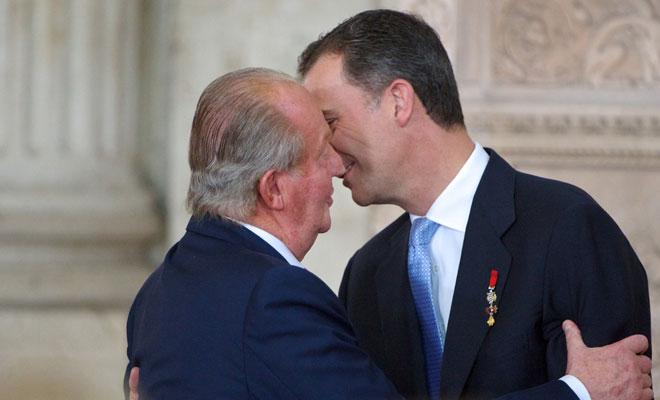 Don Juan Carlos, Felipe de Borbón