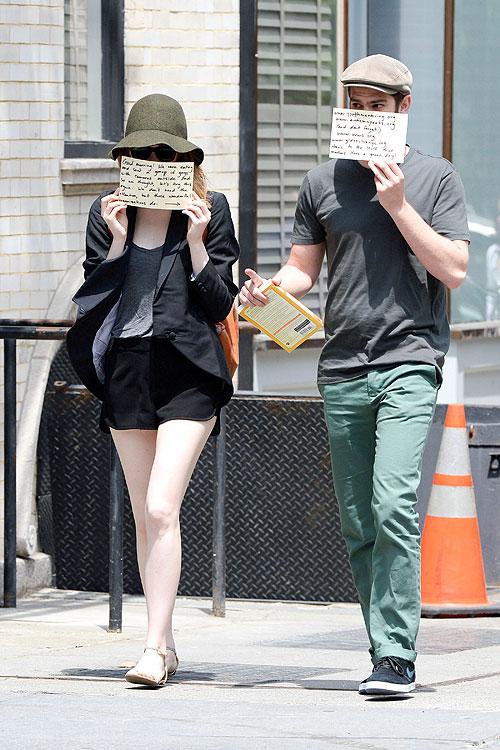 Emma Stone, Andrew Garfield, Míralos