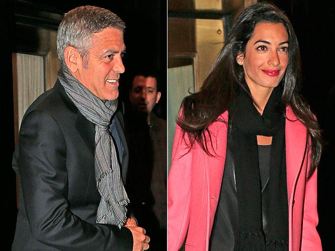 George Clooney, Amal Alamuddin, bodas y compromisos 2014