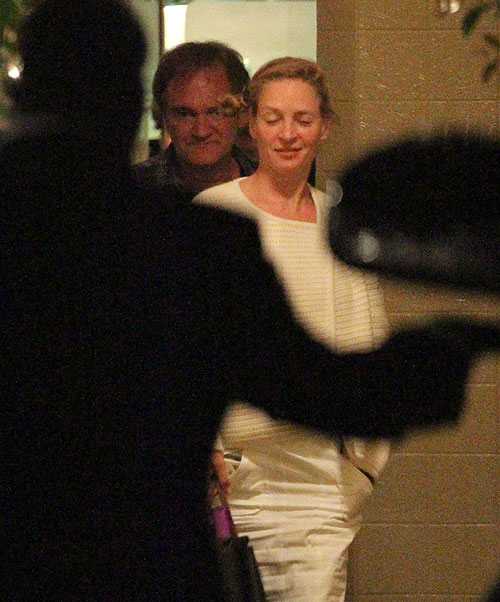 Quentin Tarantino, Uma Thurman, Míralos