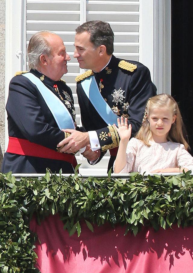 Juan Carlos, Felipe, Leonor